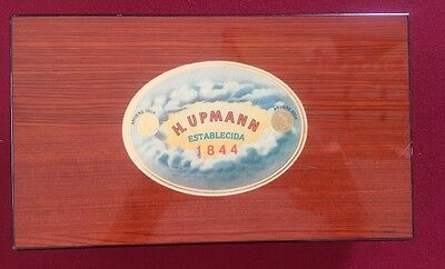 H. Upmann 1844 Large Humidor 2004 W/3 Trays Excellent!
