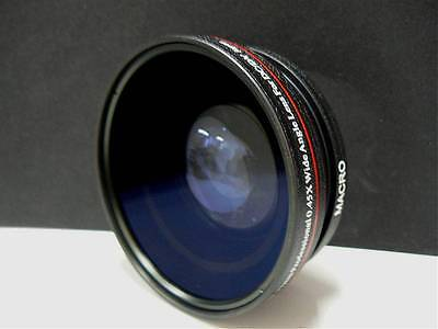New  Pro 77mm 0.45X Wide-Angle   Lens w/Macro For Any 77mm  Thread Filter size