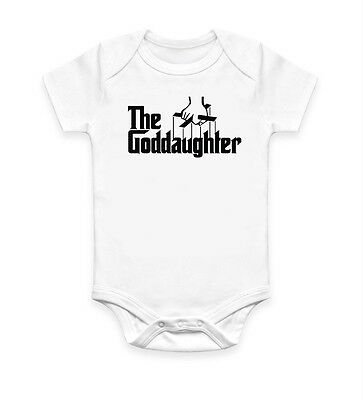 Funny The Goddaughter Baby Grow Body Suit Baby Suit Ideal Gift Present Unisex