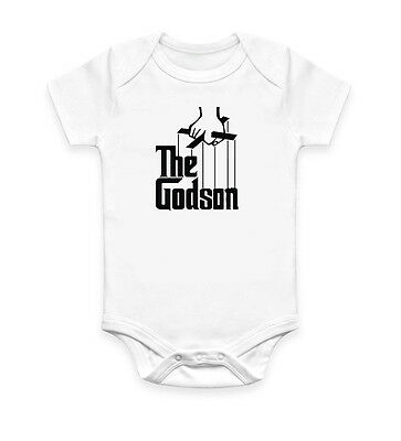 Funny The Godson Baby Grow Body Suit Baby Suit Ideal Gift Present Unisex