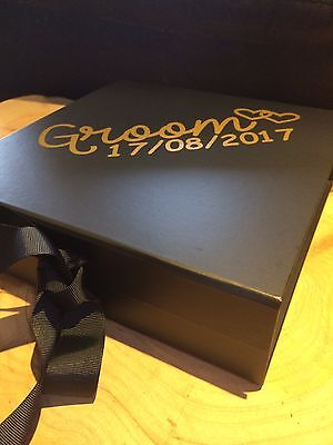 Grooms Gift Box- Large