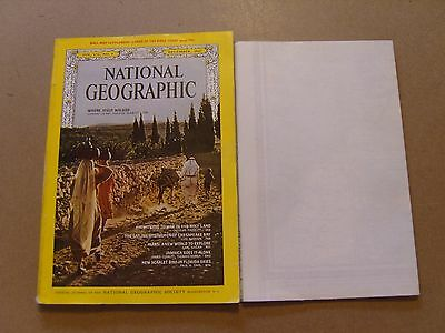 National Geographic Magazine - December 1967 - Map Included -Images For Contents