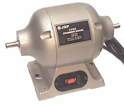 1/2 HP LATHE POLISHING MOTOR complete with 2 tapered spindles