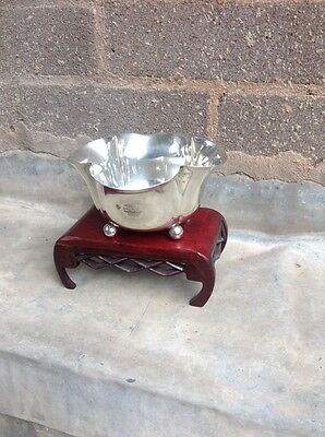 Solid London Silver Bon Bon/sweet Meat Dish London 1901