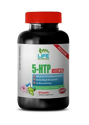 L-5-HTP Supplement - Pure 5-HTP 99% 100mg - Sleep-Inducing Booster 1B