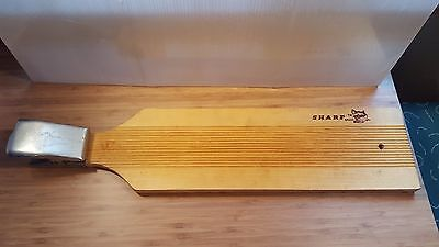 Sharp Fillet Wood Board Fishing Clip Board Holds Fish For Scaling Cleaning Fish