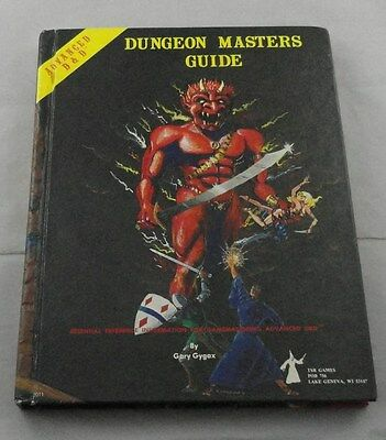 Advanced Dungeons & Dragons Dungeon Masters Guide TSR2011 1979 AD&D