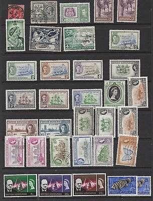British Honduras mlh & used assortment