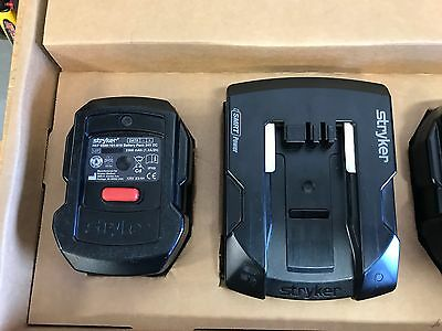 Battery and Charger Kit for Stryker Power Pro 6500 24V DC 2300mAh OEM Battery