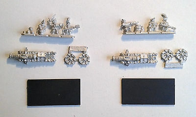 Warhammer Warmaster- 2x Empire Cannons. OOP