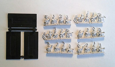 Warhammer Warmaster- 6x Empire Crossbow Men stands. OOP