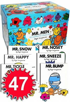Mr Men My Complete Collection 47 Books Box Set RRP £140.53 Brand NEW