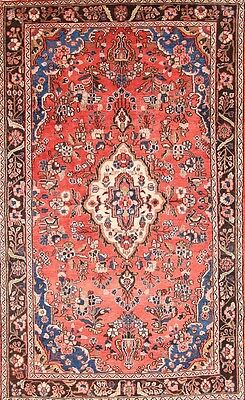 Excellent Floral 4x7 Hamedan Mlayer Persian Area Rug Oriental Carpet