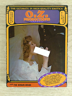 8mm Adult Film The Virgin Bride O Z Productions Color Erotica Movie