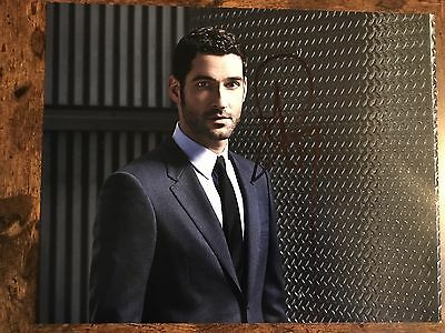 Tom Ellis Signed 10 x 8 Photo Tom Ellis Lucifer TV Series Autograph