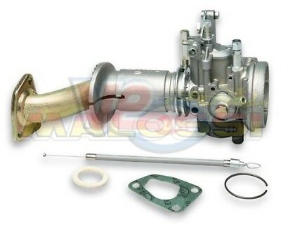 VESPA 50 SPECIAL MALOSSI 20mm CARB KIT W/ 2 STUD CRANKCASE INDUCTION MANIFOLD