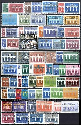 Cept Europa 1984 ** annata completa MNH beautiful and complete collection