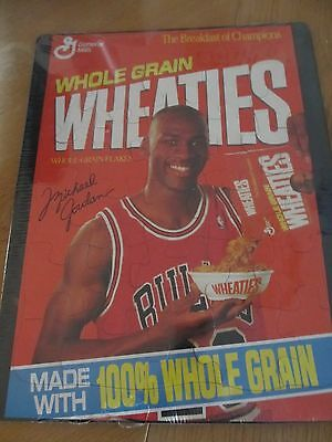 Wheaties Puzzle - Michael Jordan - Breakfast Of Champions - New - Free Shipping!