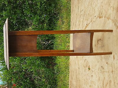 Plant Stand Retro Deco Aspidistra Plant Stand Oak Tall Wooden Display Tier Table