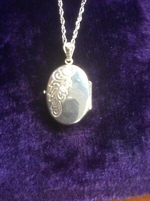 Locket Solid Silver Vintage