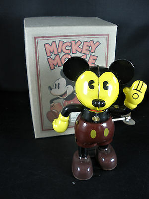 Mickey Mouse And Friends Schylling Retro Tin Toy Collection Mickey Mouse w Box
