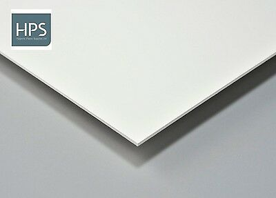8 foot x 4 foot solid PVC hygienic wall cladding sheet in white 1.5mm