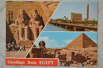 "CPM "" Greetings from EGYPT - Différentes vues -"