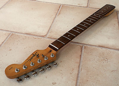 Vintage Rare 1998 Small Headstock Squier by Fender Affinity Stratocaster Neck