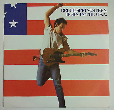 "Bruce Springsteen Born In The U.S.A. Single 7"" Spain original 1985"