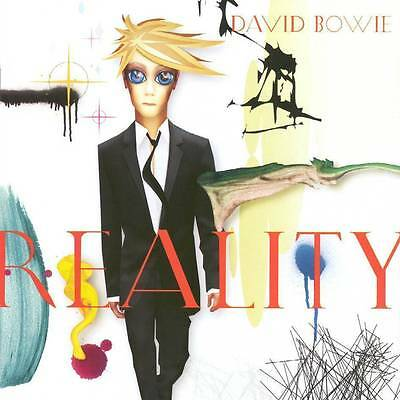 DAVID BOWIE ~ REALITY ~ 180gsm AUDIOPHILE VINYL LP ~ *NEW AND SEALED*