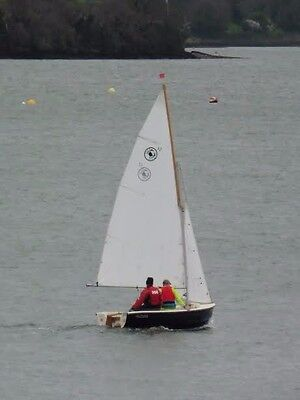 Cornish Crabber 12    12' sailing dinghy/day boat