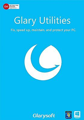 Glary Utilities Pro 5  LIFETIME LICENCE 2017 FULL VERSION  2 PCs  PER LICENCE