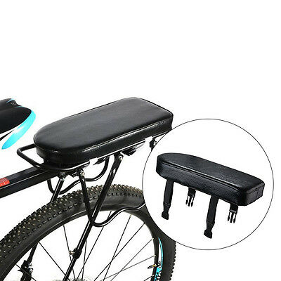 Durable Soft Rear Cushion Rack Seat For Bike Bicycle MTB Rear Rack Black