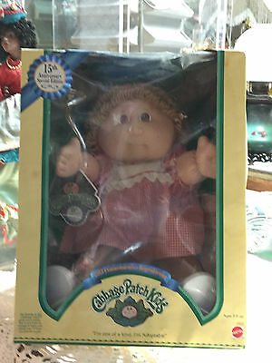15th Anniversary Special Edition Cabbage Patch Kids Doll 1983 Reproduction