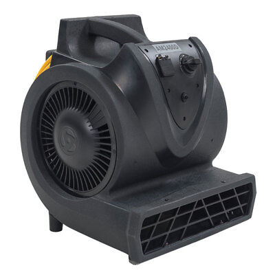 Clarke AM2400D Whistle-Style Carpet Fan Air Mover, 3-speed, 1/3 hp motor, 500003