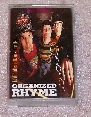 Vintage Cassette Tape  Canada Hip Hop Tom Green Organized Rhyme HUH Stiffen