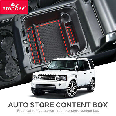 For Land Rover Discovery4 LR4 2016-2017 Accessories Car Organizer  ABS+PVC