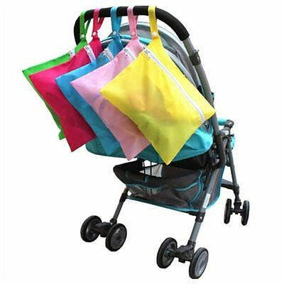 Waterproof Clothes Pram New Cup Pushchair Organizer Baby Stroller Nappy Bag