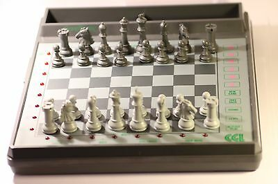 Vintage Cgl Grandmaster Sensory 2 Chess Computer Electronic Chess Set Hong Kong