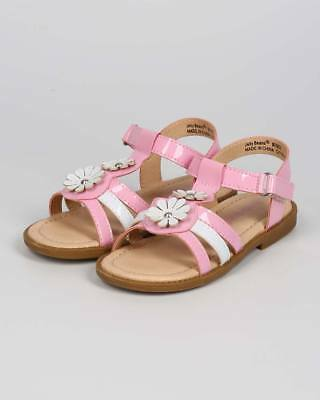d0d3e514d368 New Girl Jelly Beans Safe Patent Open Toe Two Tone T-Strap hook and loop