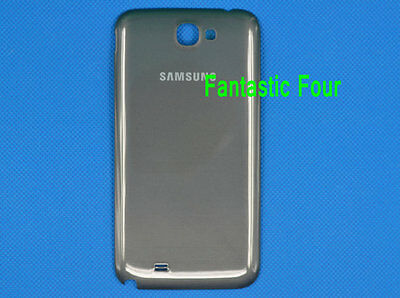New Battery Back Door Cover Titanium Gray For Samsung Galaxy Note II 2 N7100