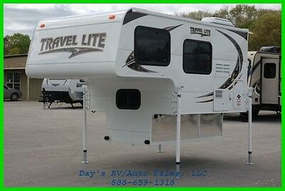 2018 Travel Lite 690FD Slide In Mid Size Pick up Truck Camper Ford Chevy Dodge