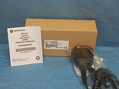 NEW Motorola PMMN4045B Remote Speaker Microphone (RSM)