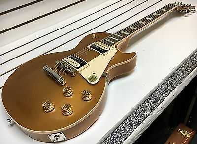 2017 Gibson Les Paul Classic T Electric Guitar w/ OHSC Gold Top