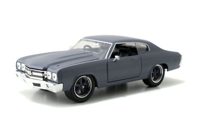 Fast and Furious 1970 Chevy Chevelle SS Primer Grey 1:24 Jada