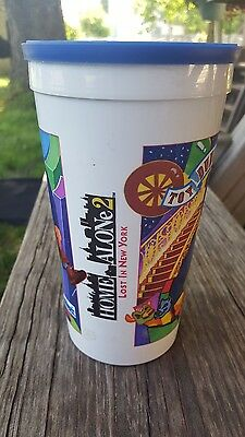 Roy Rogers Home Alone 2: Lost in New York Collectible Plastic Cup 1992 Hardees