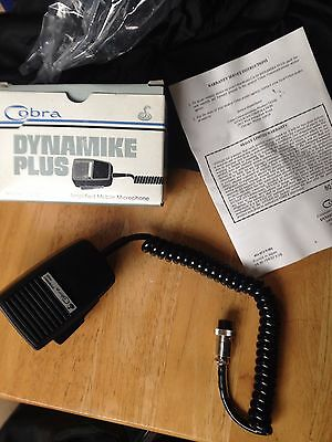 Cobra Dynamike Plus - Ampllified Mobile Microphone - Model CA-50 Vintage