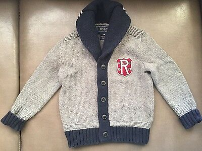Ralph Lauren Polo Cardigan Sweater Baby Size 24M