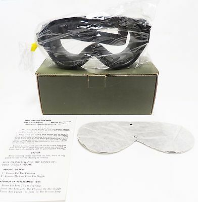 New Stemaco Goggles Sun, Wind, Wust 2 Lens Clear, Gray 8465-01-004-2893