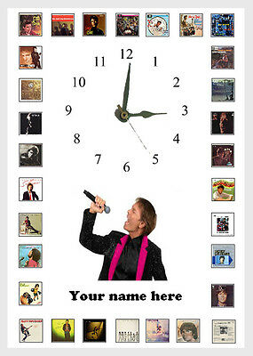 Cliff Richard   Album Wall clock  Great gift Personalised Free